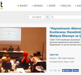 """""""Hapsetmenin Alternatifleri"""" Konferansı: Denetimli Serbestlik ve Mahpus Ebeveyn ve Çocuk Hakları"""