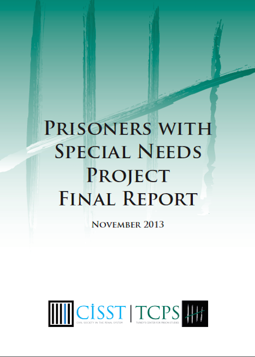 Prisoners with Special Needs Project Final Report 2013